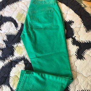 Loft modern crop jeans